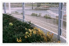 Curvy Welded mesh fencing