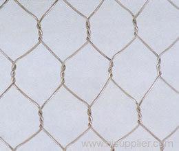 galvanized hexagonal metal mesh