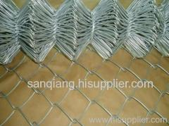 iron chain link fence mesh