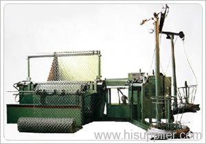 full automatic diamond mesh machine