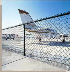 Airport Chain Link Fence