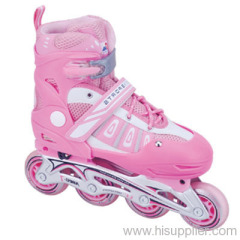 adjustable semi-soft inline skate