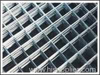 electro galvanized welded wire mesh panel