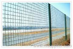 pvc euro welded fence