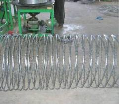 hot-dipped razor wire meshes