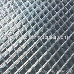standard galvanized welded wire mesh sheet