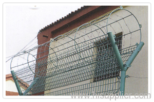 razor barbed wire fences