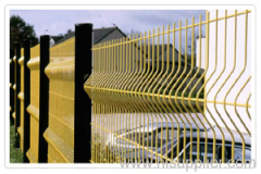 Curvy Welded Fences