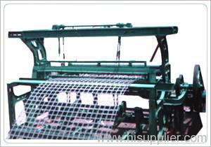 crimped iron wire mesh machine