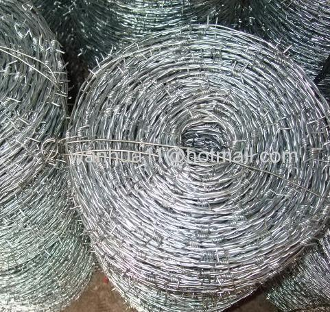 electro galvanized barbed wire roll