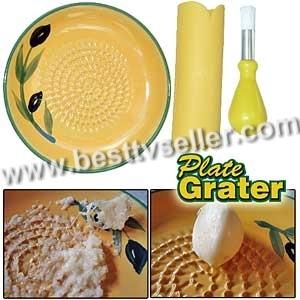 Ceramic Grater Plater