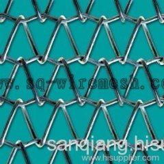 metal conveyor belt meshes