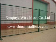 welded fence with frames