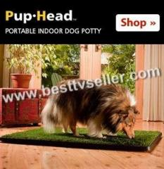 Pup-Head Portable Dog Potty