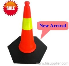 Soft PE reflective traffic cone