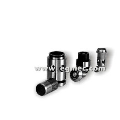 Hydraulic relief valve bushes