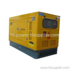 Silent diesel generator