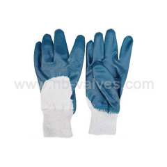 Full-immersion nitrile glove
