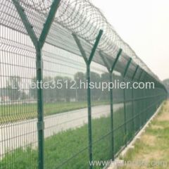 wire mesh fence A