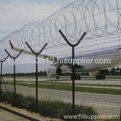 airfield wrie mesh fence