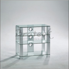 glass television stands