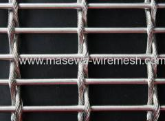 Stainless steel wove fabric