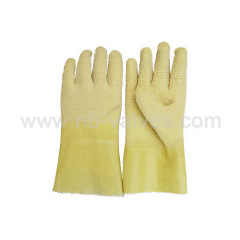 Long latex glove