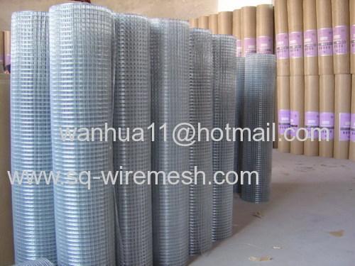 electro zine coated welded mesh