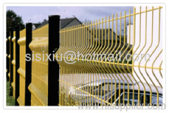Curvy Welded Wire Fences