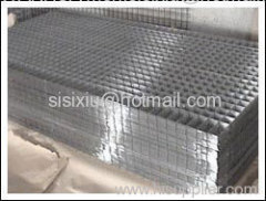 Welded Iron Wire Mesh Panel Sheets
