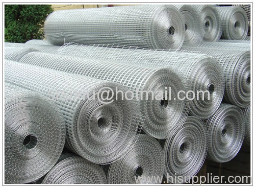 Electro Galvanized Welded Wire Meshes