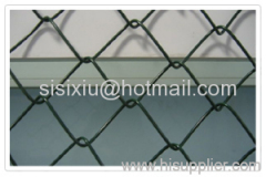 galvanized iron chain link fences