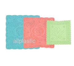 Plastic cup mat