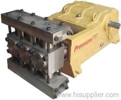 Recirocating piston pump