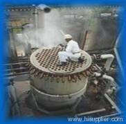 Heat exchanger tube cleaning
