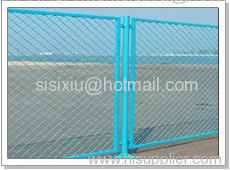 Expanded Metal Fencing