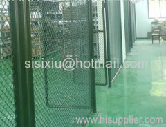 Storehouse chain link fence