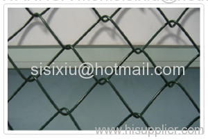 Plastic Coated Chain Link Fence