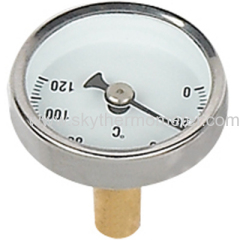 small dial pipe thermometer