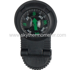 Plastic car compass