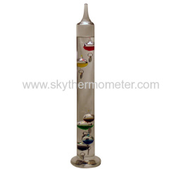 6 balls galileo thermometer