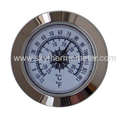 small dial insert thermometer