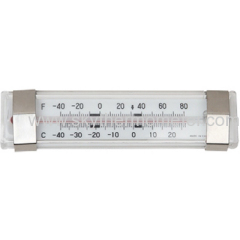 refrigerator thermometer with ss bracket