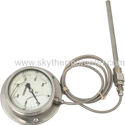"""4"""" ss pressure thermometer"""