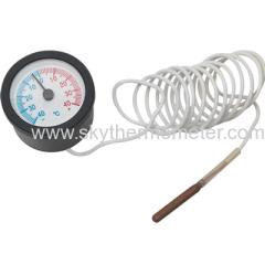 plastic pressure thermometer