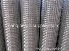 zinc plated welded wire mesh