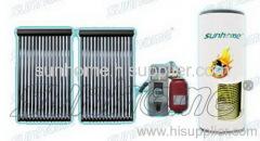 split solar water heating system
