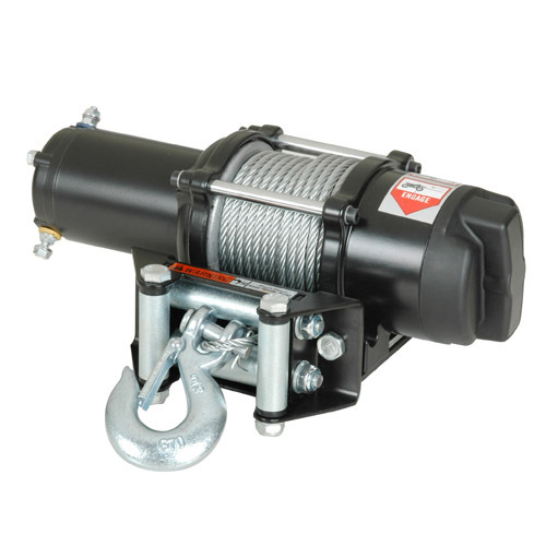 ATV Electric Winch With 3000lb Pulling Capacity (New developed)