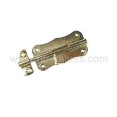 Butterfly type door bolt