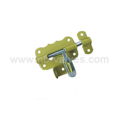 Butterfly heavy door bolt